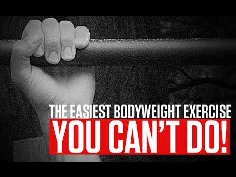 The EASIEST Bodyweight Exercise (You CAN'T Do!!) Image 1