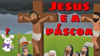 JESUS E A PÁSCOA (Deus de Milagres - Música e História) | Turma Kids e Cia