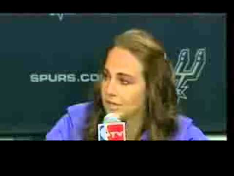 Becky Hammon First Woman NBA Coach   San Antonio Spurs Hire Becky Hammon   VIDEO