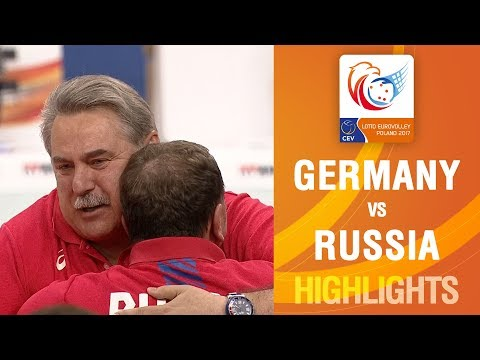 Highlights of a great Final   Germany vs Russia   LOTTO EUROVOLLEY POLAND 2017