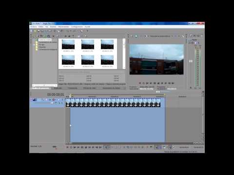 Como hacer Time Lapse Sony Vegas 13