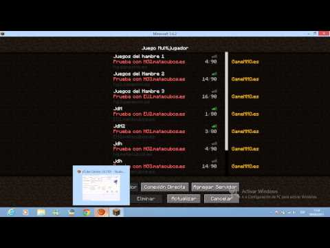 Como Jugar los Juegos del Hambre 1.6.2 [Pirata] (IP en la descripción)