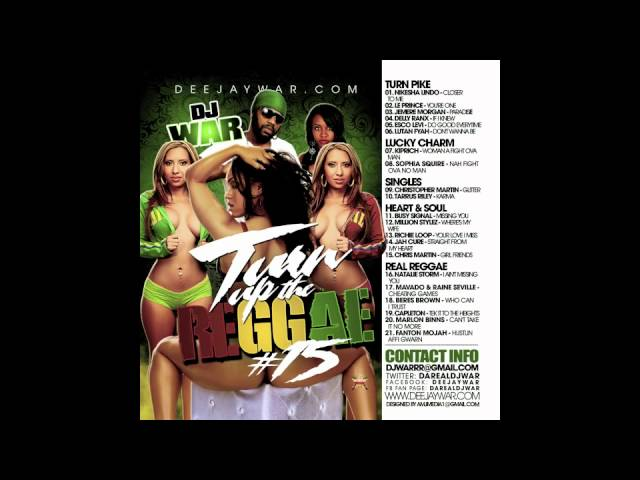 DJ War - Turn Up The Reggae Vol 15 Preview FT Nikesha Lindo, Exco Levi, Delly Ranx