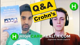 Ulcerative Colitis & Crohn's Disease Q&A | Instagram Questions