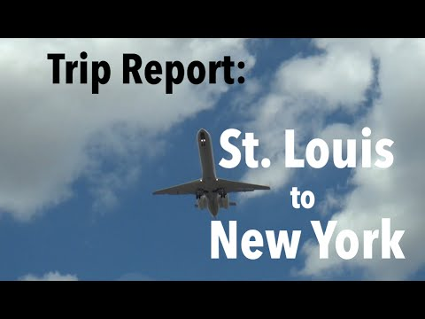 TRIP REPORT - United Airlines, St. Louis to New York (EWR)