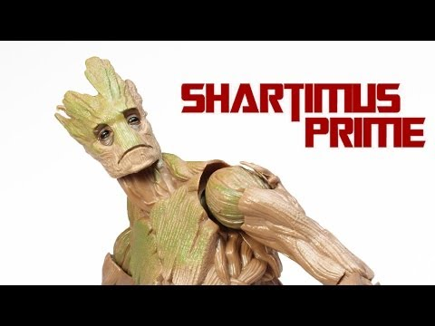 Marvel Legends Groot BAF Guardians of the Galaxy Movie Wave Action Figure Review