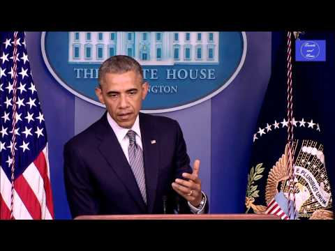 President Obama speech on Malaysia plane crash shot down Flight MH17