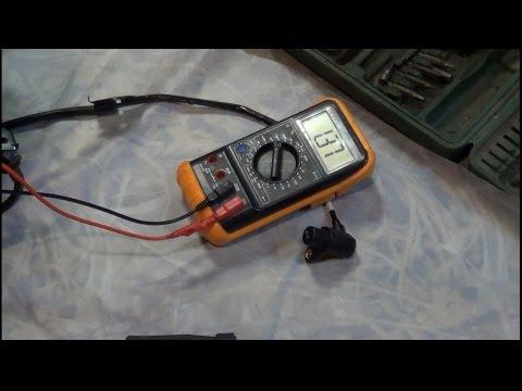 Видео как проверить датчик АБС тестером