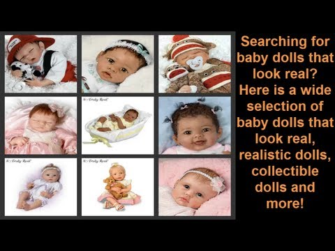 Life Like Baby Dolls   Realistic Baby Dolls that Look Real
