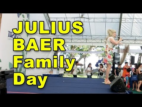"""Family Day Emcee"" for Julius Baer by @DonnaDaniels of DonnaDaniels.com"