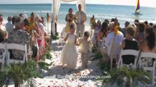 Beach Wedding Video by Sand Petal Weddings
