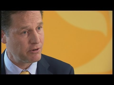 'Heartbeaking': Nick Clegg on European election results
