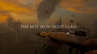 The BEST Iron Sight Sniper Class setup on WWII @KingDootle
