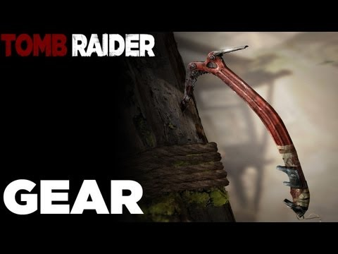 How to upgrade Gear and Weapons Guide - Tomb Raider