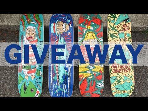 All I Need Skateboard Giveaway #1