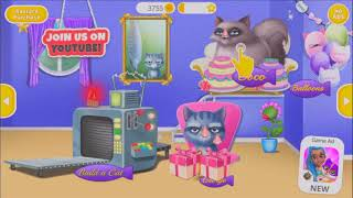 Cat Hair Salon Birthday Party - Fun Little Kitten Pet Care - Birthday Care Game #1