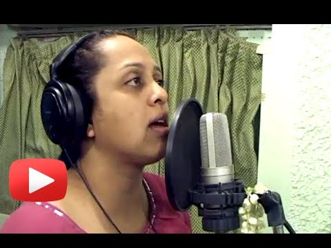 New Marathi Movie Ghungarachya Nadat - Song Recording - Vaishali...