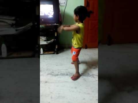 Arnav's dance step