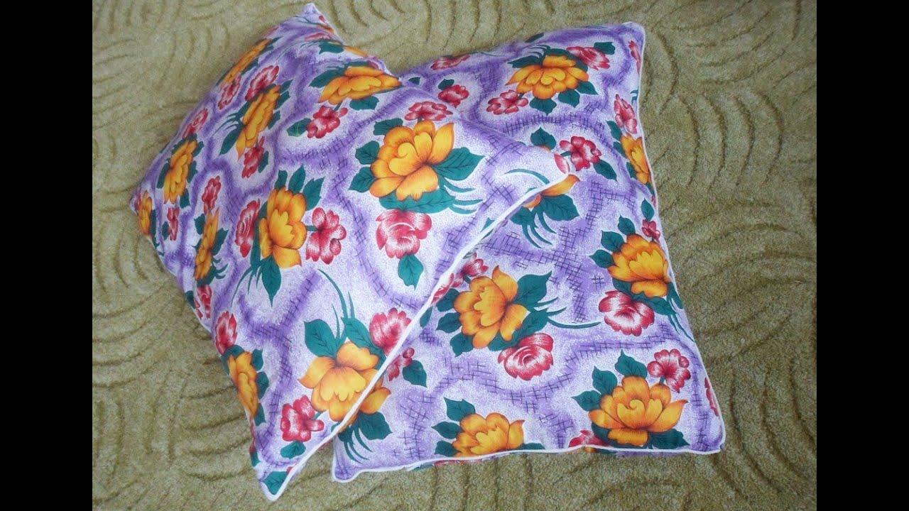 Как пошить ортопедическую подушку