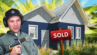 BUYING AND FIXING UP OUR FIRST HOUSE TO SELL! | House Flipper Gameplay