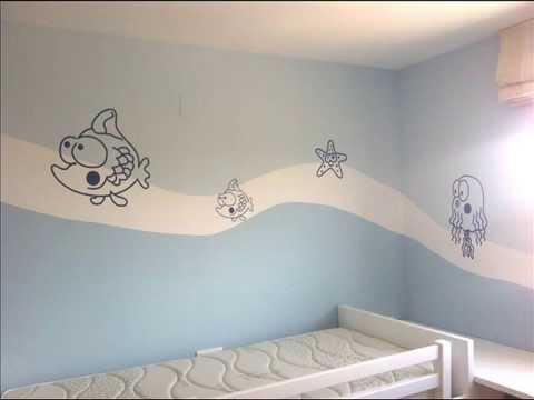 Cómo pintar un mural para una habitación infantil - WorldNews