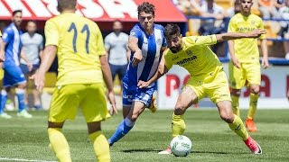 Resumen: Villarreal B 1-2 At.Baleares
