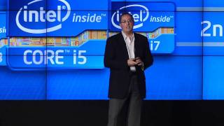 CES 2011_ Raw video - Intel launches second generation Core chips, previously codenamed Sandy Bridge