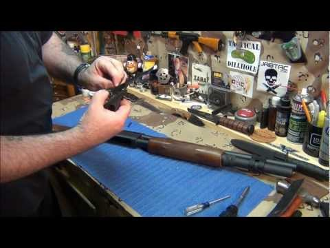 Remington 870 complete disassembly