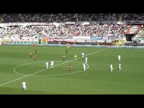 Torino fc - Roma 1-2 gol di Rolando Bianchi