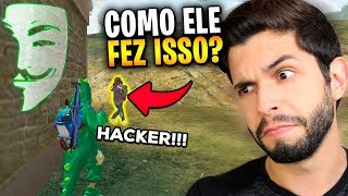 O HACKER MAIS IMPRESSIONANTE!?! ELE ME MATOU EM 1 SEGUNDO NO FREE FIRE!