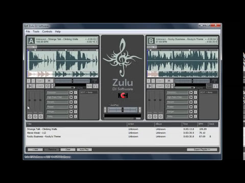 Zulu DJ Software | Tutorial