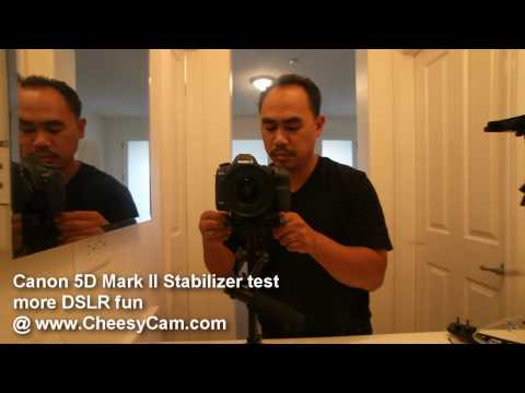 DSLR Video Stabilizer Glidecam Demonstration
