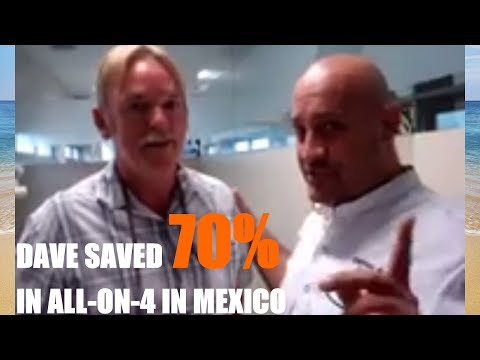 All On 4 Dental Implants Mexico & All On 6 at Cancun Cosmetic Dentisty by Dr German Arzate