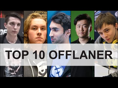 Top 10 Off Laner Dota 2