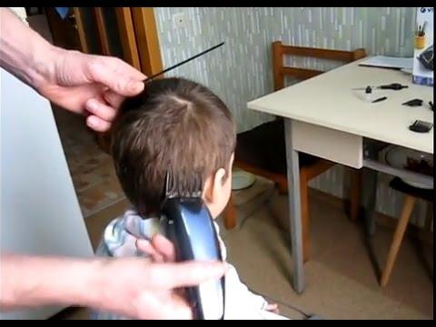 Детская стрижка машинкой в домашних условиях
