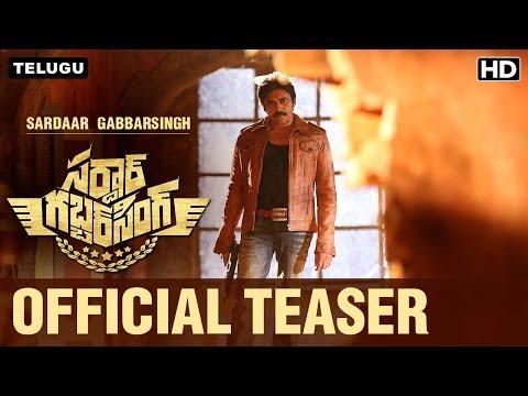 Sardaar Gabbar Singh Official Teaser | Pawan Kalyan, Kajal Aggarwal | Devi Sri Prasad
