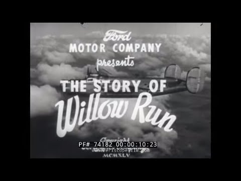 """Made by the Ford Motor Company during WWII, """"The Story of Willow Run"""" explains the company's role in producing the Consolidated B-24 Liberator heavy bomber. Narrated by Harry Wismer, the film..."""