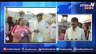Actor Sri Kanth With Family Visits Tirumala- Takes Sri Vari Blessings - Tirupati  - netivaarthalu.com