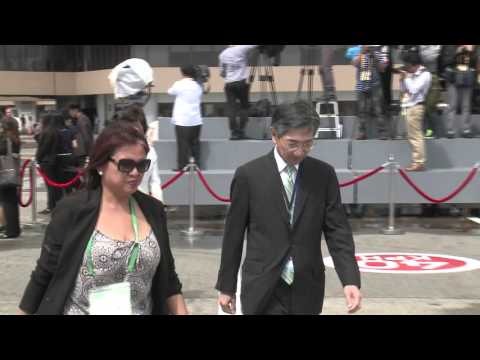Arrival of Prime Minister Shinzo Abe, Japan 11/18/2015
