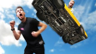Dodge The Falling Cars! | GTA5