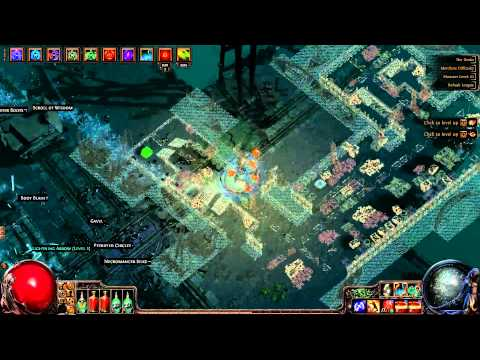 Path of Exile: Melee Splash Infernal Blow Test