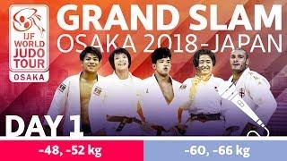 Judo Grand-Slam Osaka 2018: Day 1