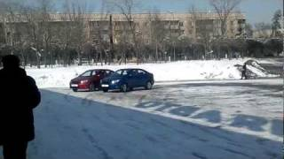 Тест Драйв нового Kia Rio (Алматы 23.02.2012)