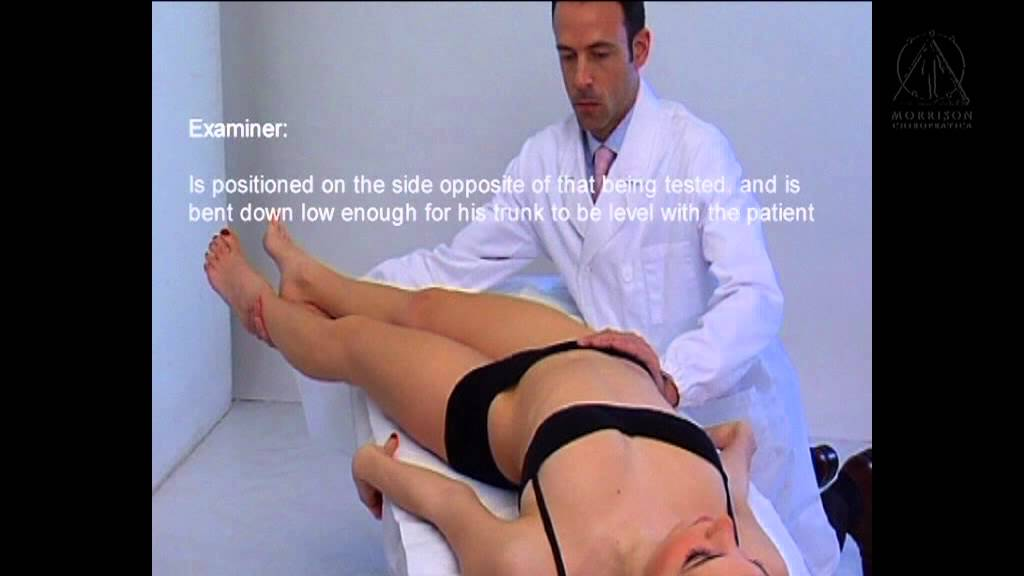 Lumbar Manual Muscle Testing Manual Muscle Testing
