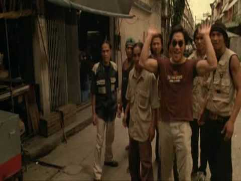 Tony Jaa Ong-Bak Chase Scene Video
