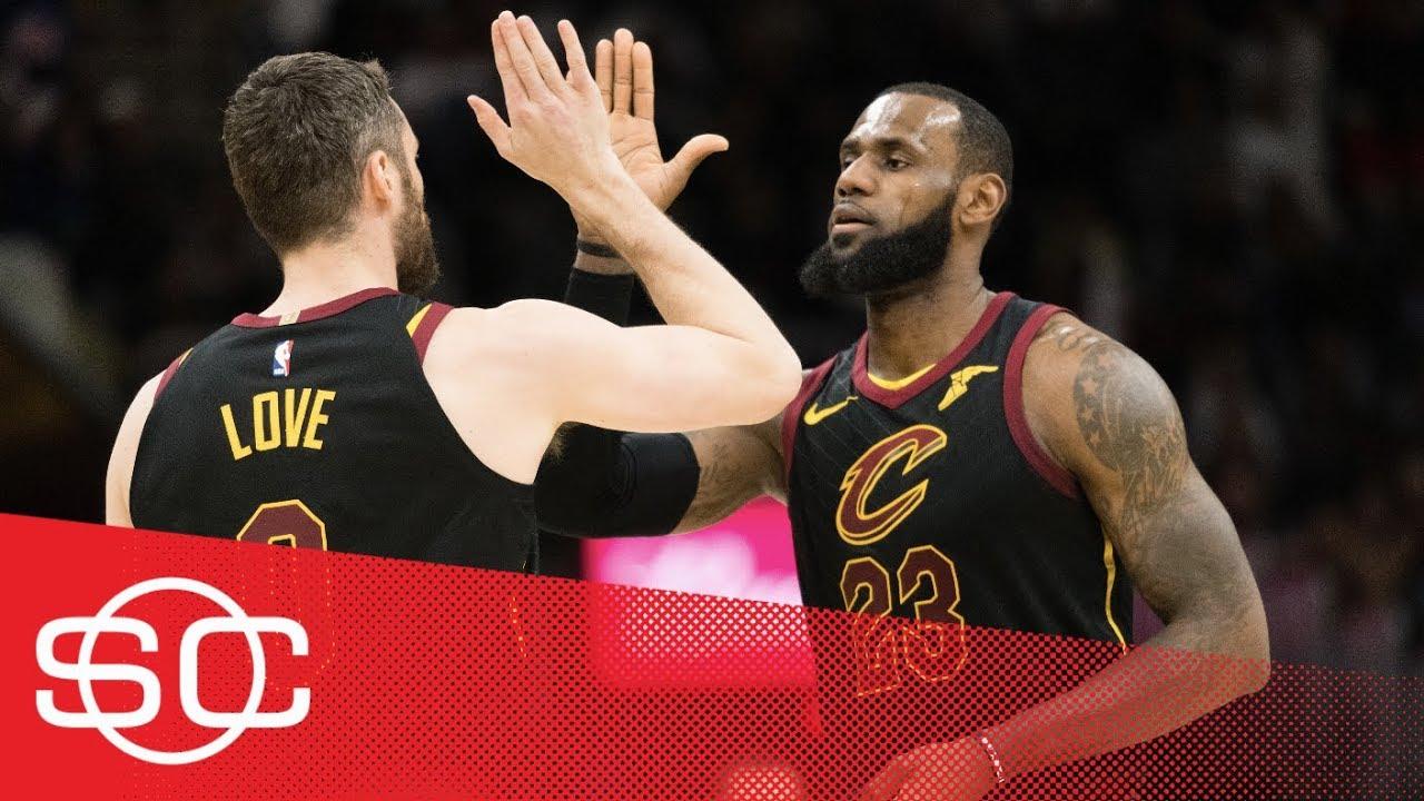 LeBron James and Kevin Love back together again for Cavaliers | SportsCenter | ESPN