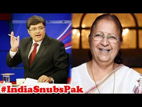 J&K Speaker Not Invited | India boycott CPA Meeting : The Newshour Debate (7th Aug 2015)