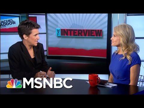 Clarifying Mixed Message On Donald Trump Muslim Ban | Rachel Maddow | MSNBC