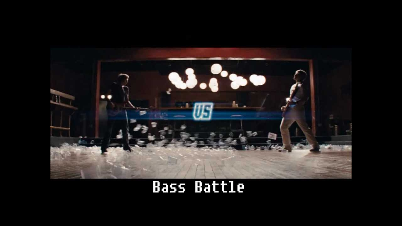 Scott Pilgrim Bass Battle