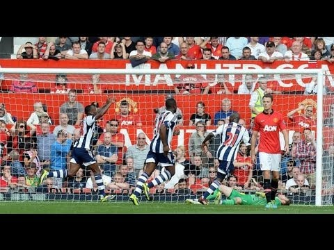 Manchester United vs West Bromwich 1-2 2013 All Goals & Highlights 28.09.2013 [HD]